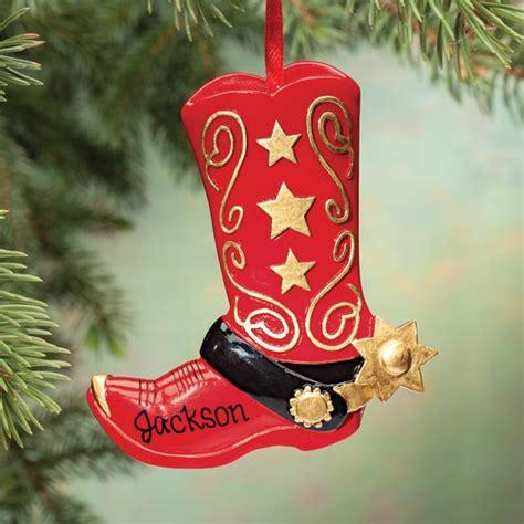 cowboy boot ornament cowboy boot christmas ornaments