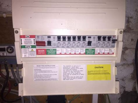 fuse box and consumer unit replacement and costs