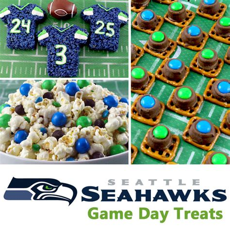 seattle seahawks game day treats  sisters crafting
