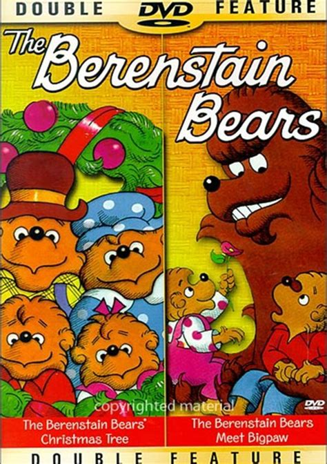 berenstain bears the christmas tree meet bigpaw dvd