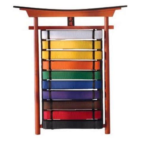 door  wood martial arts belt display rack woodworking