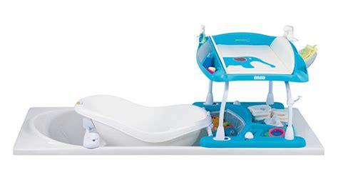 fasciatoio per vasca da bagno duo litude il fasciatoio bagnetto per la vasca da
