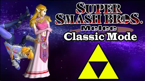 Super Smash Bros Melee Zelda And Sheik Classic Mode