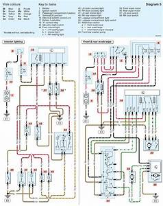 Skoda Fabia Electric Window Wiring Diagram
