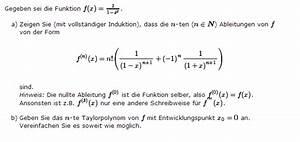 Taylorreihe Berechnen : vollst ndige induktion und taylorformel mathelounge ~ Themetempest.com Abrechnung