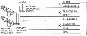 Power Door Lock Relay Wiring
