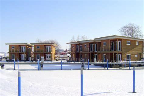 Schwimmende Häuser In Barth An Der Ostsee Mecklenburg