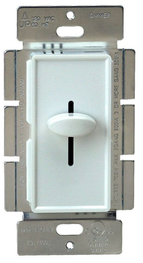 700w decorator dimmer lighting switch 3 way slide dimmer