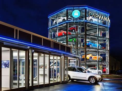 Carvana's Car Vending Machine Dispenses Vehicle Like A