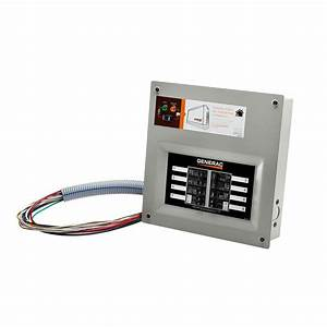 Generac Upgradeable 50 Amp Manual Transfer Switch Kit For