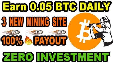 Of course if you are going to produce digital content then you may prefer to create your own website rather than allowing somebody else to publish it for you. New Bitcoin Mining Website 2019 | Earn 0.05 BTC Daily Without Investment... (With images ...
