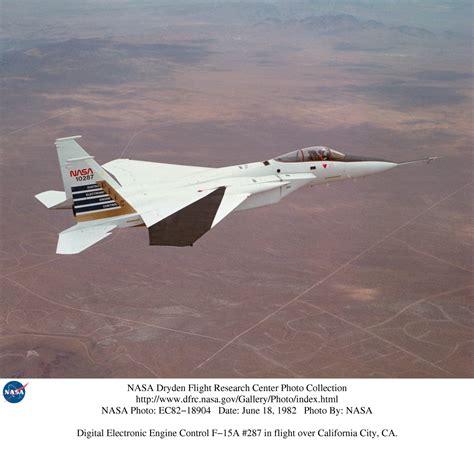 Nasa Dryden F-15a Photo Collection