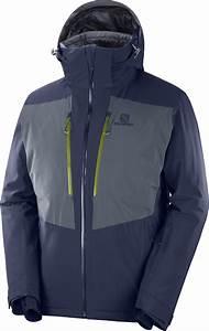 Salomon Icefrost Jacket Men Night Sky At Addnature Co Uk