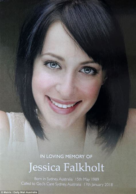actress jessica falkholt update jessica falkholt farewelled by hundreds at packed funeral