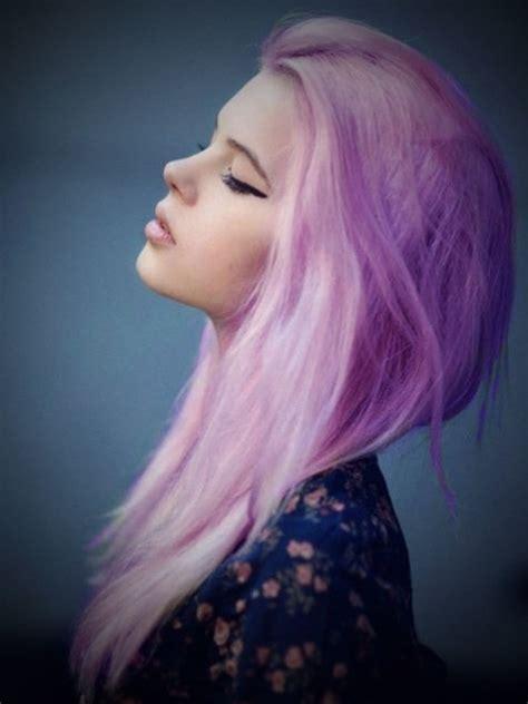 hell lila haare lila haare haare in knallfarben sind in frisurentrends