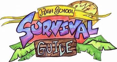 Clipart Freshman Highschool Clip Survival Guide Survivor