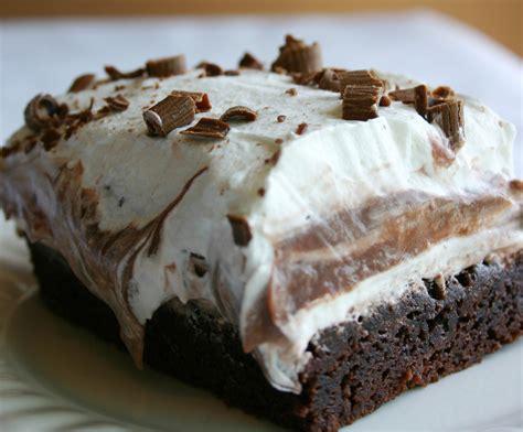 pudding and dessert recipes brownie dessert