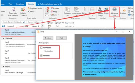 email print change font size in outlook 2013 preview pane