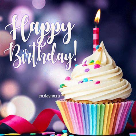 animated gif happy birthday cake