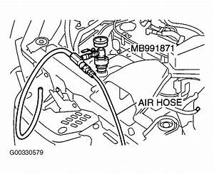 2003 Mitsubishi Outlander Serpentine Belt Routing And Timing Belt Diagrams