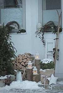 Deko Haustüre Eingangsbereich : die besten 17 ideen zu weihnachtsdekoration f r drau en ~ Whattoseeinmadrid.com Haus und Dekorationen