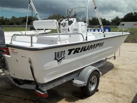 Triumph Skiff Boats For Sale by 2011 17 Triumph Boats Fishing Boat 1700 Skiff For Sale In