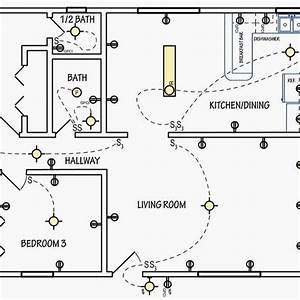 Wiring Diagram Planning Electrical House Floor Plan Full  Simple Floor Plan Electrical