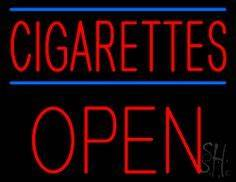 1000 images about Cigarettes Open Neon Signs on Pinterest