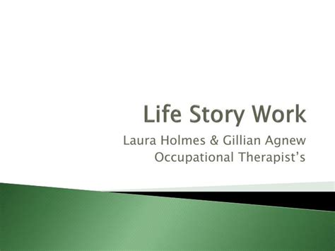 PPT - Life Story Work PowerPoint Presentation, free download - ID:1594732