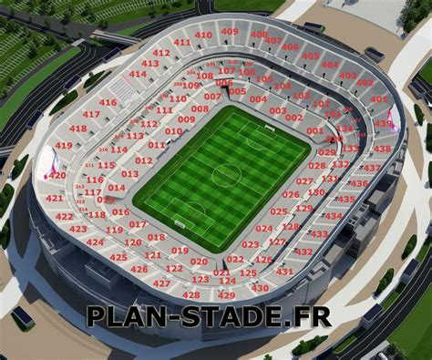 siege allianz plan du parc ol lyon