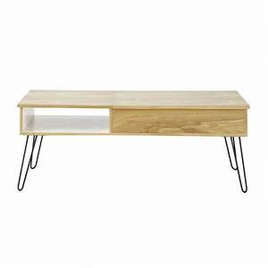 Table Basse Vintage Twist Maisons Du Monde Ref 138850