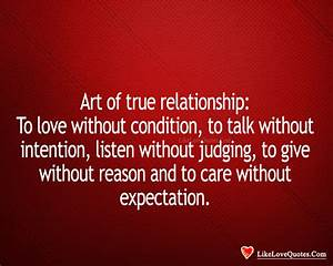 TRUE RELATIONSHIP Quotes Like Success