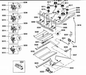 Bosch Gas Range Parts