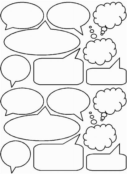 Bubbles Comic Template Thought Bubble Templates Books