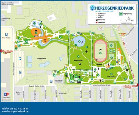 parkplan herzogenriedpark