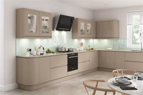Lucente Matt Stone Kitchen Doors   Doors and Handles UK