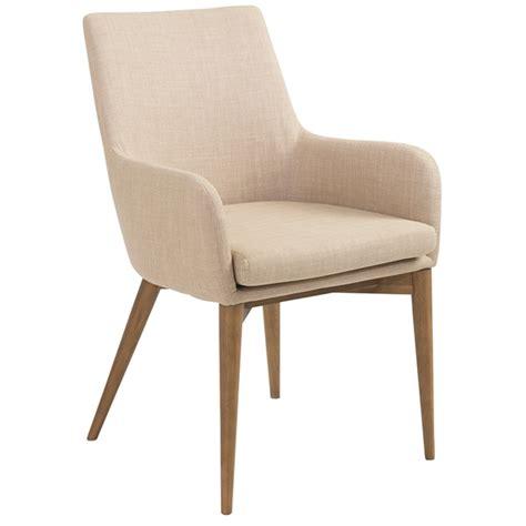 Modern Dining Chairs  Clayton Tan Arm Chair Eurway