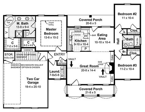 1500 sq ft house plans southern style house plan 3 beds 2 baths 1500 sq ft plan