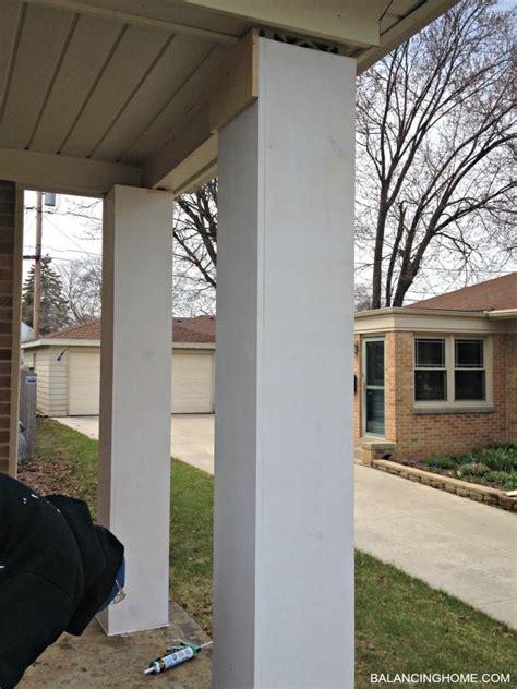 Porch Makeover Details  Balancing Home
