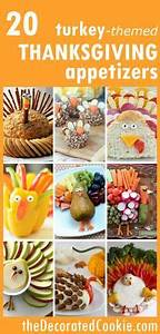 20 Turkey themed Thanksgiving appetizers roundup The
