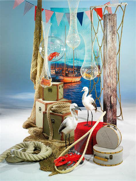 maritime deko ideen wie gefaehrliche haideko fuer seehotels