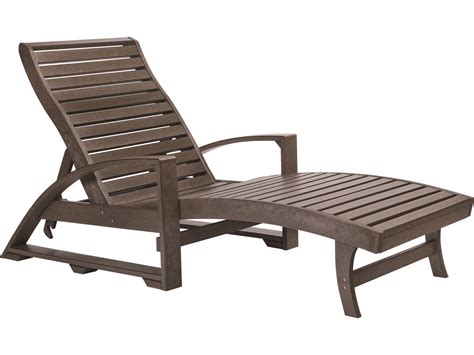 chaise polypropylene c r plastic st tropez chaise lounge with wheels crl38
