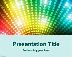 Quiz Show Powerpoint Template Free Dj Entertainment Powerpoint Template