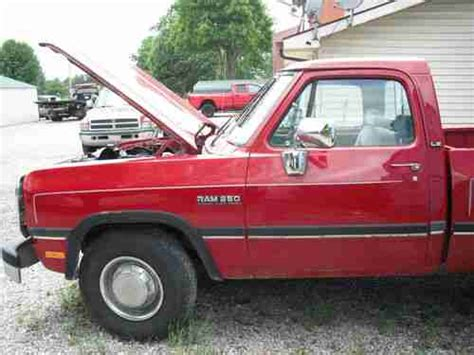 how to learn everything about cars 1992 dodge colt electronic toll collection buy used 1992 dodge ram 250 cummins in metropolis illinois united states