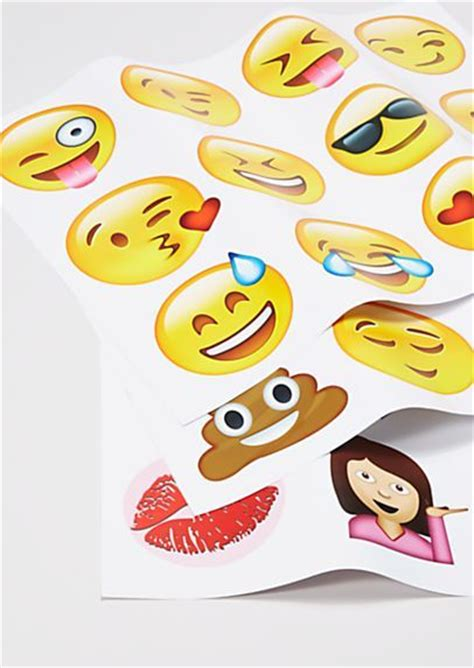 emoji wall decals bedroom decor ideas pinterest