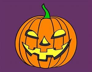 Citrouille Halloween Dessin : dessin de citrouille mauvaise colorie par shwinzov le 13 ~ Melissatoandfro.com Idées de Décoration