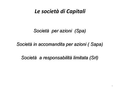 ragioneria dispense ragioneria applicata le societ 224 di capitali dispense