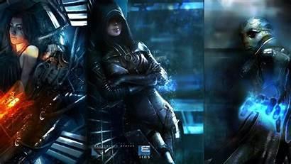 Mass Effect Miranda Lawson Thane Goto Kasumi
