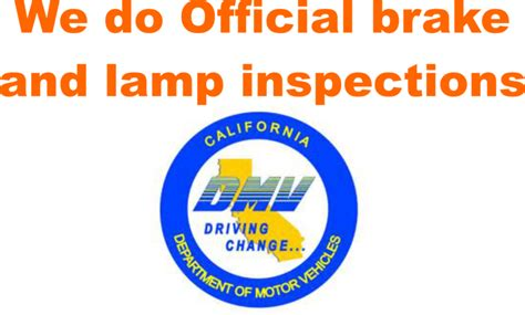 brake and l inspection ozzy castro lake wood ca 90712