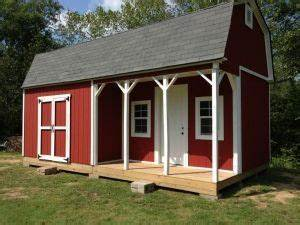 this 12x24 barn shed with porch is 39huge39 with a big With big barn shed